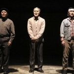 Three Generations (L-R) Ba (Radmar Agana Jao), Yeh Yeh (Marc Oka), and Xian (Daniel May) in East West Players' Spring Musical, Beijing Spring, now playing through June 15th.