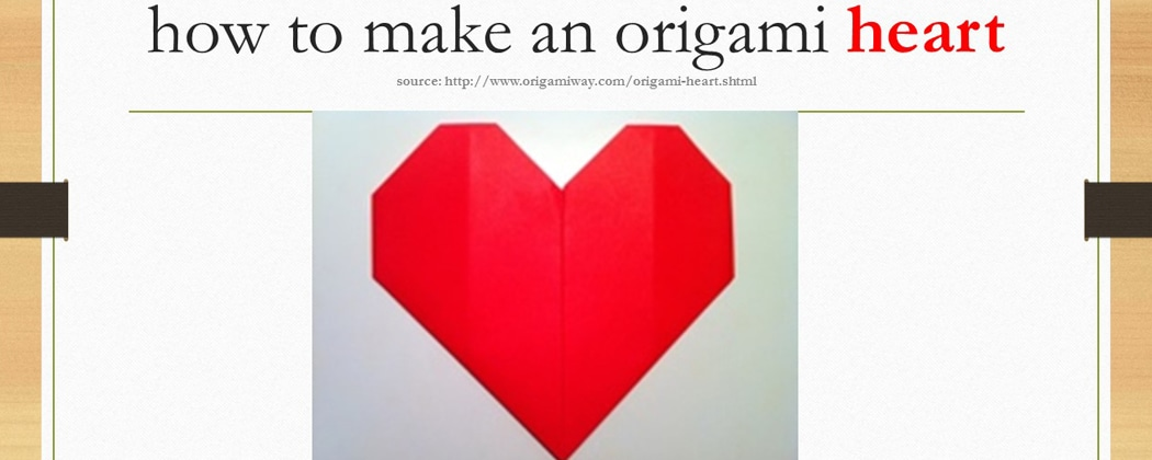 How to Make an Origami Heart   East West Players   The Nations 4o0mlOe4