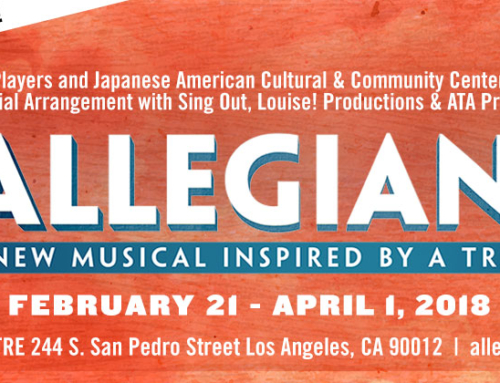 "EWP & JACCC Announce George Takei to Lead The Cast in L.A. Premiere of ""Allegiance"" in 2018"