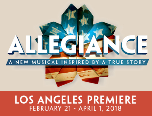 East West Players/JACCC announce cast & creative team of ALLEGIANCE (Los Angeles), Aratani Theatre, Feb 21-Apr 1, 2018