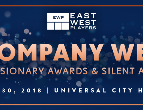 TV & Stage Stars Suzy Nakamura and Jon Jon Briones  will join Lily Mariye and Wendy Chang/Dwight Stuart Youth Fund as Honorees at East West Players' 52nd Visionary Awards Dinner & Silent Auction on Monday, April 30, 2018 at Hilton Universal City